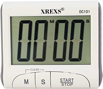 XREXS Large Display Countdown Timer Digital Clock
