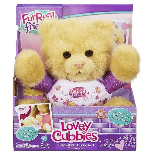 Furreal Friends Lovey Cubbies Honey Bear by Hasbro - 1
