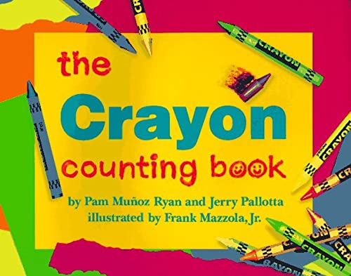 The Crayon Counting Book, Pam Munoz Ryan, Jerry Pallotta