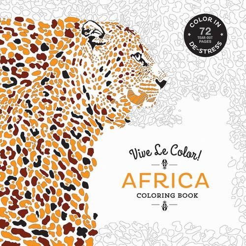 Vive Le Color! Africa (Adult Coloring Book):