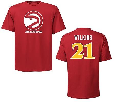 Atlanta Hawks Dominique Wilkins Majestic Throwback T Shirt