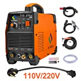 HITBOX TIG Welder 200A 110 220V Dual Volt Inverter TIG Welding Machine