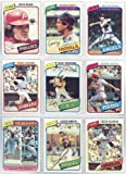 This Is the 1980 Topps Baseball Complete Near Mint 726 Card Hand Collated Set; It Was Never Issued in Factory Form. Features Rickey Henderson's Rookie Card #482. Loaded with Stars and Hall of Famers Including George Brett, Nolan Ryan, Mike Schmidt, Yaz, Yount, Rose, Ozzie Smith and Many Others!