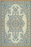 Mad Mats Persian Indoor/Outdoor Floor Mat, 4 by 6-Feet, Andaman