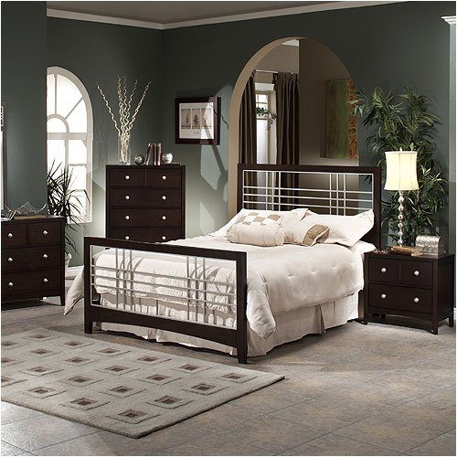 Hillsdale Furniture 1418 Series Tiburon Mezzo Bedroom Set