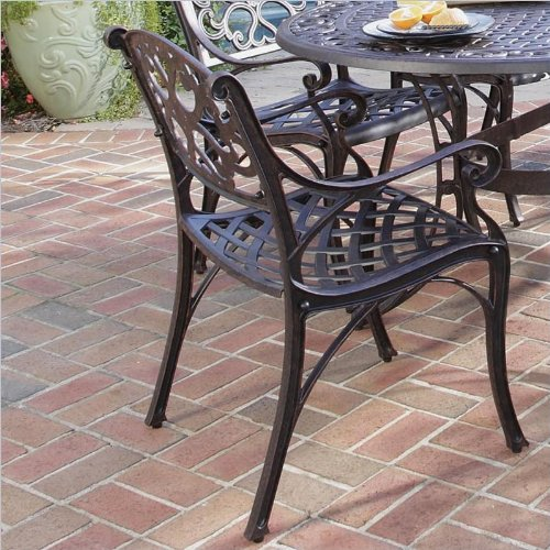 Home Styles 5555 338 Biscayne 7 Piece Outdoor Dining Set