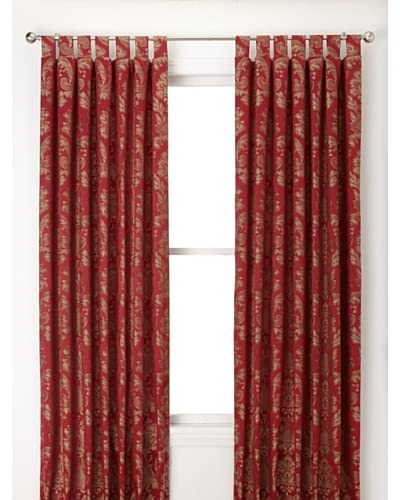 Jennifer Taylor Home Collection Set of 2 Peggy Curtain Panels, Multi