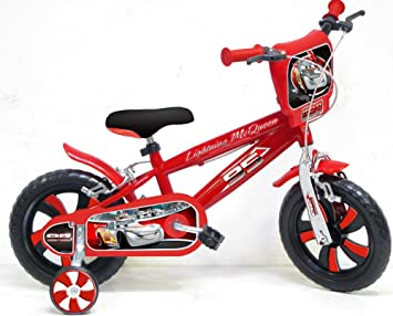 """Vélo 12"""" Disney Cars officiel"""