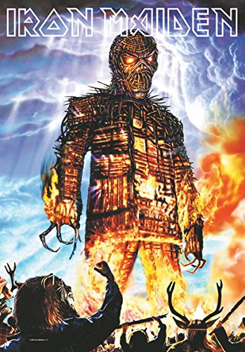 Iron Maiden - Bandiera Poster Bandiera Wicker Man