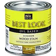 - W44N00803-12 Best Look Interior Wood Stain-WALNUT INT WOOD STAIN
