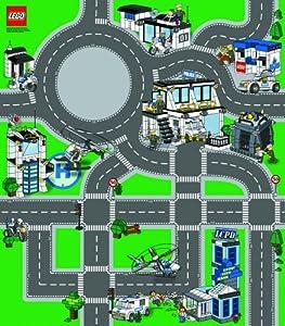 Lego City Playmat Police Amazon Co Uk Toys Amp Games