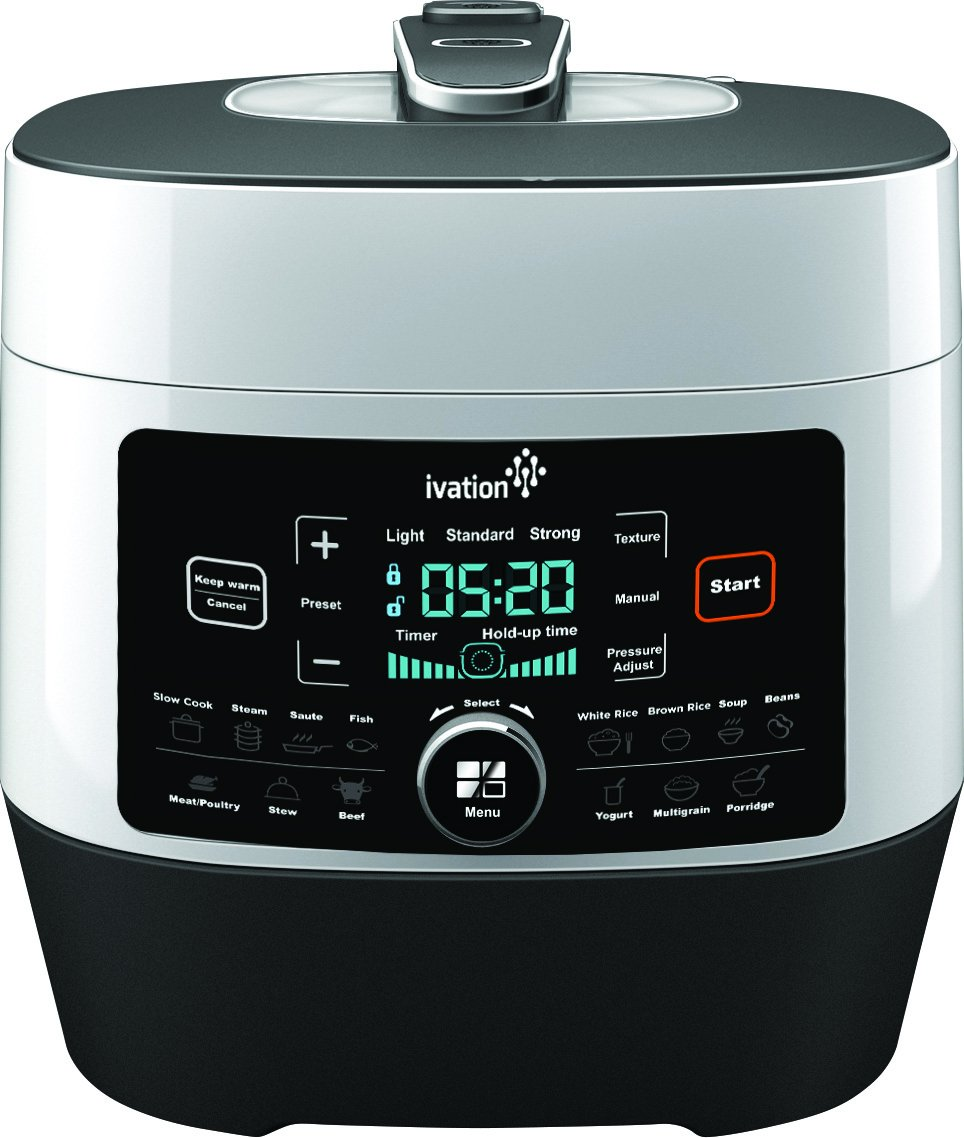 Best Slow Cookers: Ivation 8-In-1 Programmable Multi-Function ...