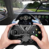 Xbox One Mini Steering Wheel, Xbox One Controller Add-on Replacement Accessories for All Xbox Racing Game