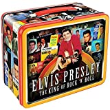 Elvis Presley The King Of Rock 'N' Roll Lunchbox Tin Tote - Man From Memphis