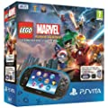 Console Playstation Vita Wifi + jeu � t�l�charger L�go Marvel Super Heroes (PS Vita) + Carte M�moire 4 Go