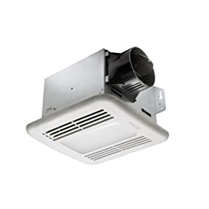 delta breezgreenbuilder gbr80led 80 cfm exhaust bath fan with led light review