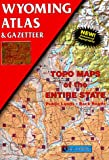 Wyoming Atlas & Gazetteer (0899332617) by DeLorme