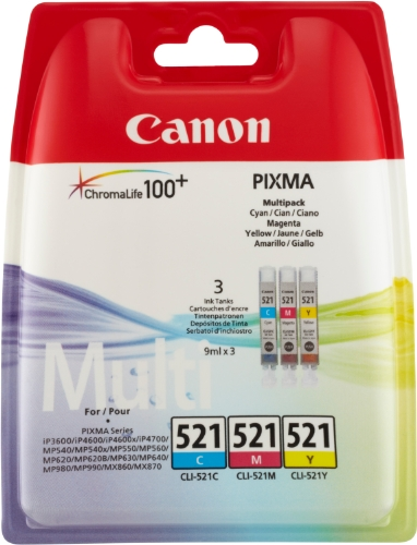 canon-cli-521-inkjet-getto-dinchiostro-cartuccia-originale