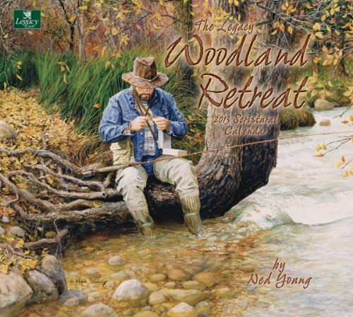 Cheap Legacy of Faith 2013 Wall Calendar, Woodland Retreat by Ned Young (WCA9241) (B0089K392Y)