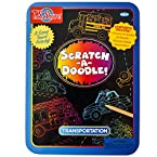 Scratch-A-Doodle: Transportation Activity Tin