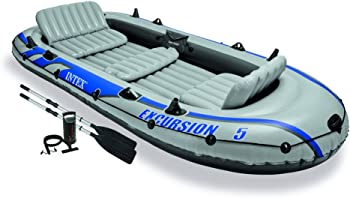 Intex 5-Person Inflatable Boat Set