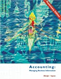 img - for Accounting: Managing Business Information, Preliminary Edition Volume I book / textbook / text book