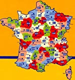 Michelin Map Number 308: Finistere Morbihan Quimper Vannes (France) and Surrounding ARea Scale 1:175000 Michelin Travel Publications