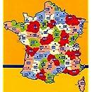Michelin Local Map Number 318: Loiret, Loir-et-Cher, Blois, Orleans and Surrounding Area (France), Scale 1:150,000