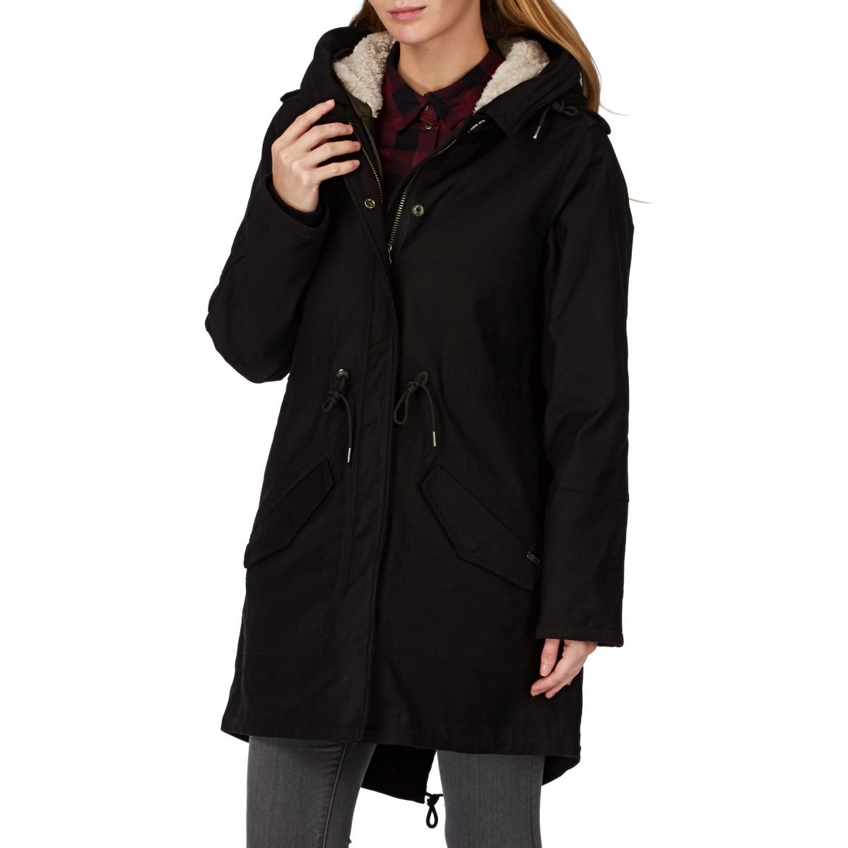 Maison Scotch Parka Jacket - Navy