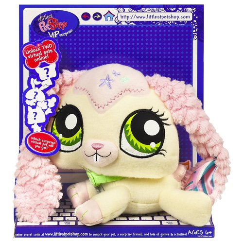 Buy Low Price Hasbro Littlest Pet Shop VIP Pets Surprise Pet – Bunny Figure (B001JDE6W0)