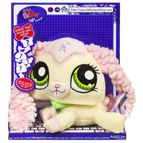 Buy Low Price Hasbro Littlest Pet Shop VIP Pets Surprise Pet – Bunny Figure (B001JDE6W0)