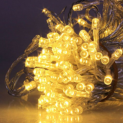 Warm White 20M 200 Led String Decoration Light For Christmas Wedding Party 220V