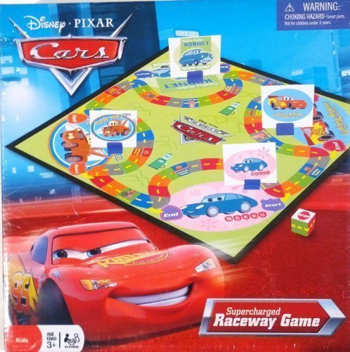 Cars Supercharged Raceway Game