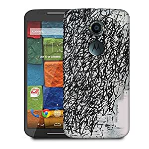Snoogg Graffiti Incase Designer Protective Phone Back Case Cover For Moto X 2nd Generation