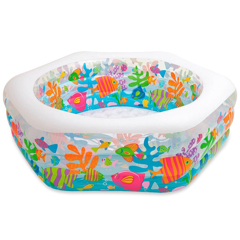 Intex Swim Center Ocean Reef Inflatable Pool