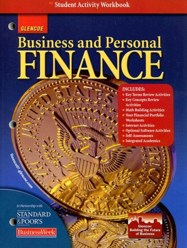 Business and Personal Finance, Student Activity Workbook
