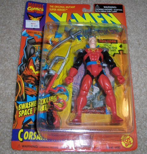 X Men The Phoenix Saga Corsair Figure: Swashbuckling Space Pirate - 1