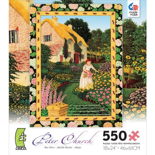 Bee Hive - 550 Piece Jigsaw Puzzle