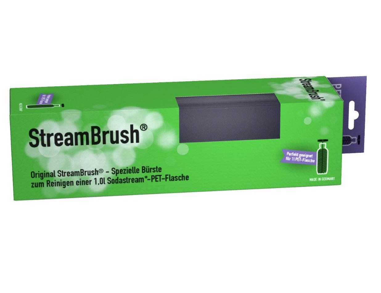 streambrush flaschenb rste f r 1 0 liter pet sodastream flaschen made in g ebay. Black Bedroom Furniture Sets. Home Design Ideas
