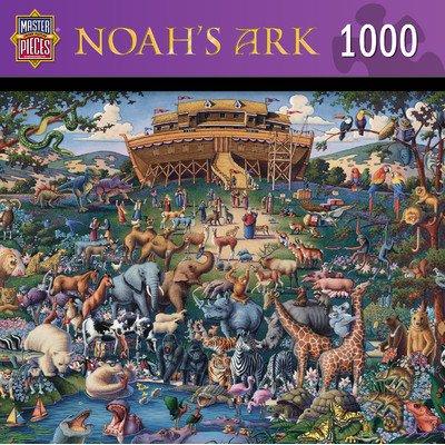Noah'S Ark 1000 Piece Jigsaw Puzzle front-862780