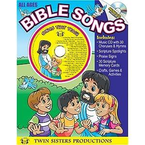 Bible Songs Workbook