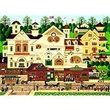 Buffalo Games Charles Wysocki, Derby Square - 1000pc Jigsaw Puzzle
