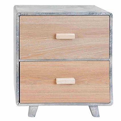 Clayre & Eef 6H1004 mueble de cajones y armario de madera de gabinete de alrededor de 38 x 24 x 43 cm