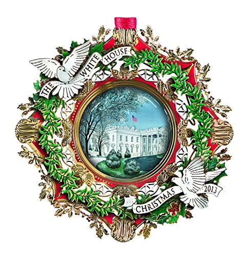 2013 White House Christmas Ornament, The American Elm Tree (White House Historical compare prices)