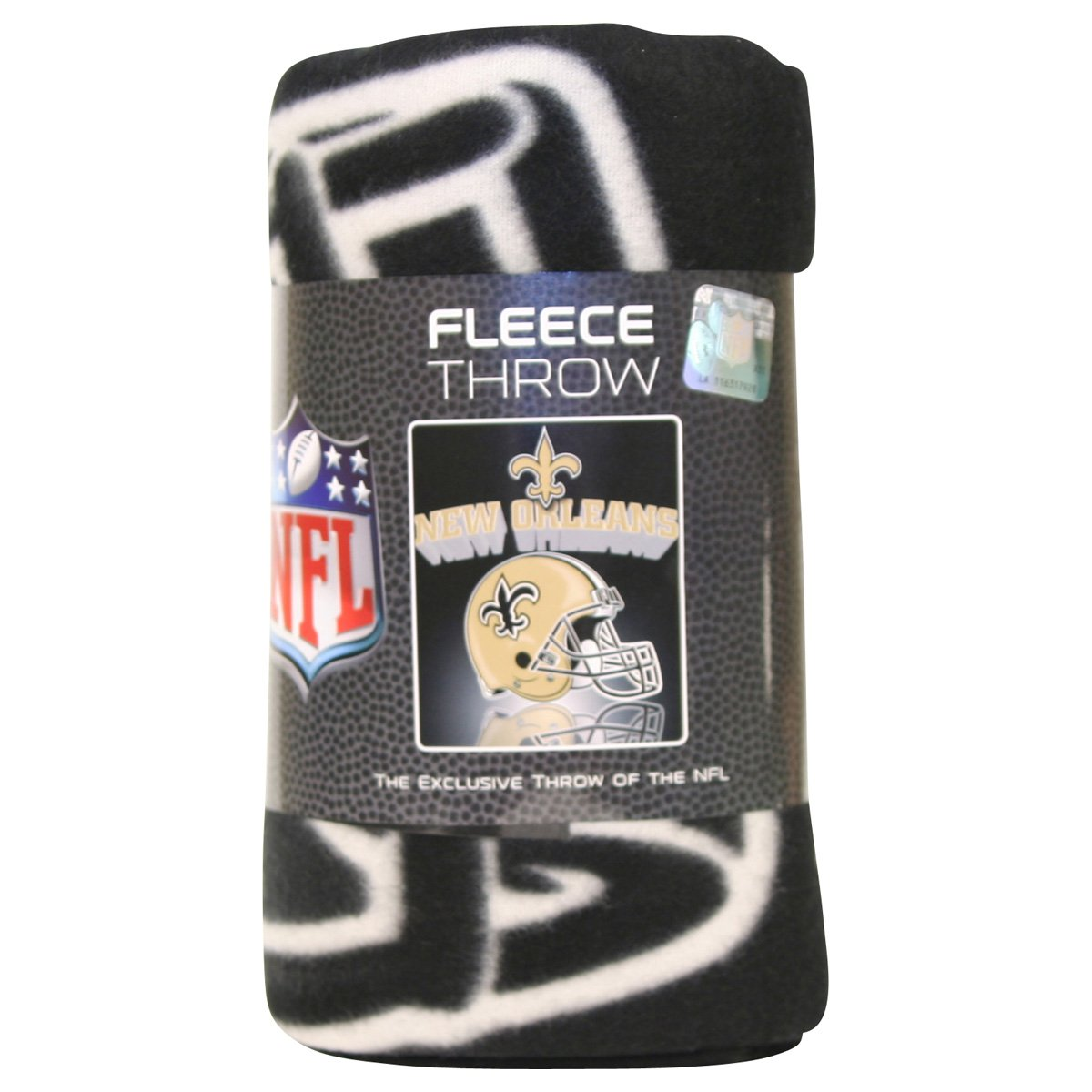 New Orleans Saints Lightweight Fleece Blanket