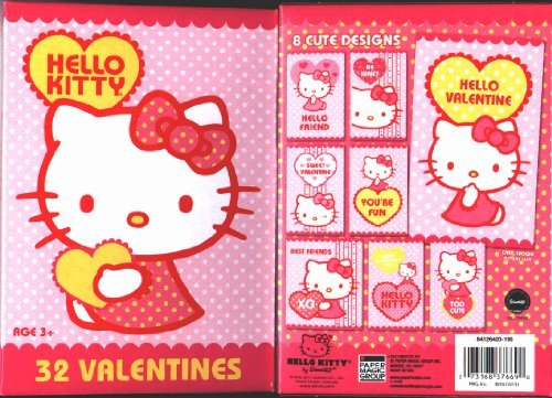 Hello Kitty 32 Valentines