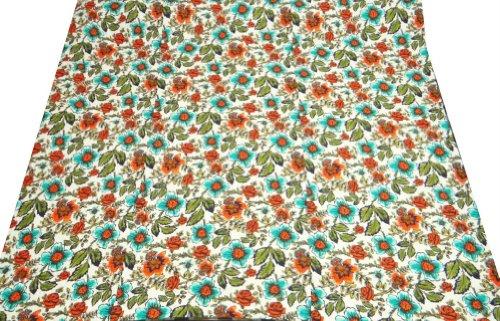 Home Décor Blanco Cotton Quilt Queen Size Gudri decorativo Floral Pattern Colcha Reversible Throw India 114X94 pulgadas