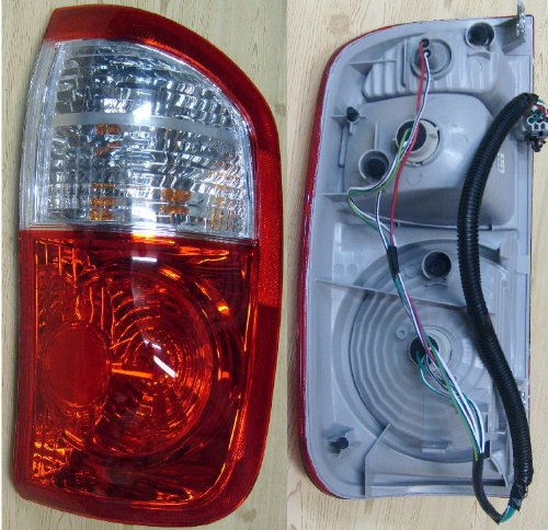 2004-2006 Toyota Tundra Right Side Rear Only -- Rear Tail Lamp Light DOUBLE CAB, ,W/STANDARD BED replaces OEM 815500C040 Interchange 166-59656 Partslink TO2801153