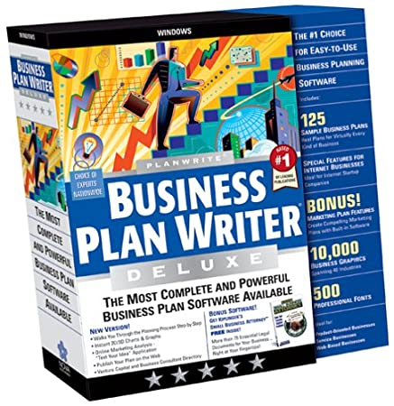 PlanWrite Business Plan Writer Deluxe