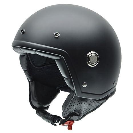NZI 050271G442 Tonup Casque de Moto, Taille M Noir